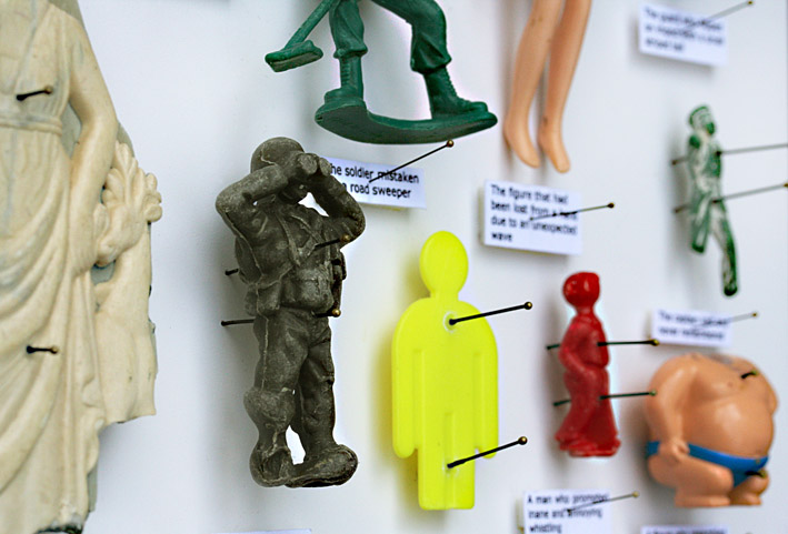 16 Figures, No2, (Including the brave and the foolish)